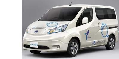 Nissan e-NV200 elektromos