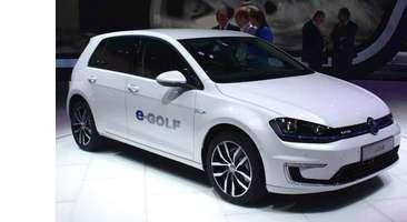 VW e-Golf elektromos autó