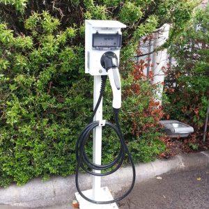 elektromos autó gyorstöltő