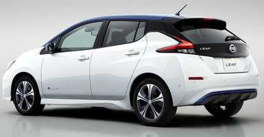Nissan Leaf E-Plus