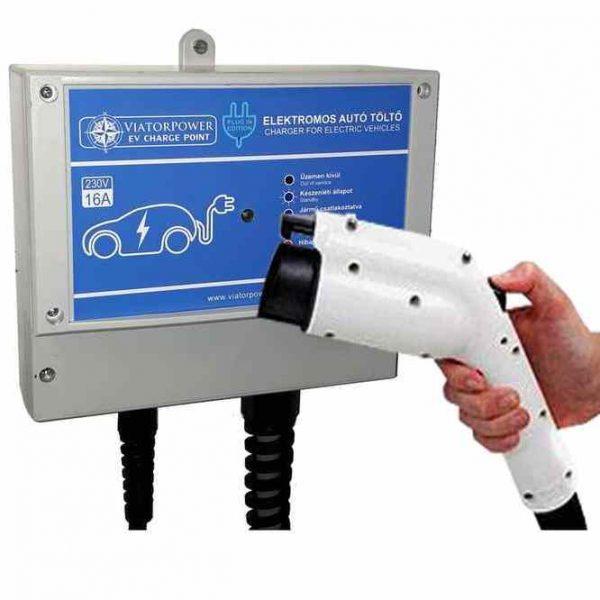 Plug-in elektromos autó töltő