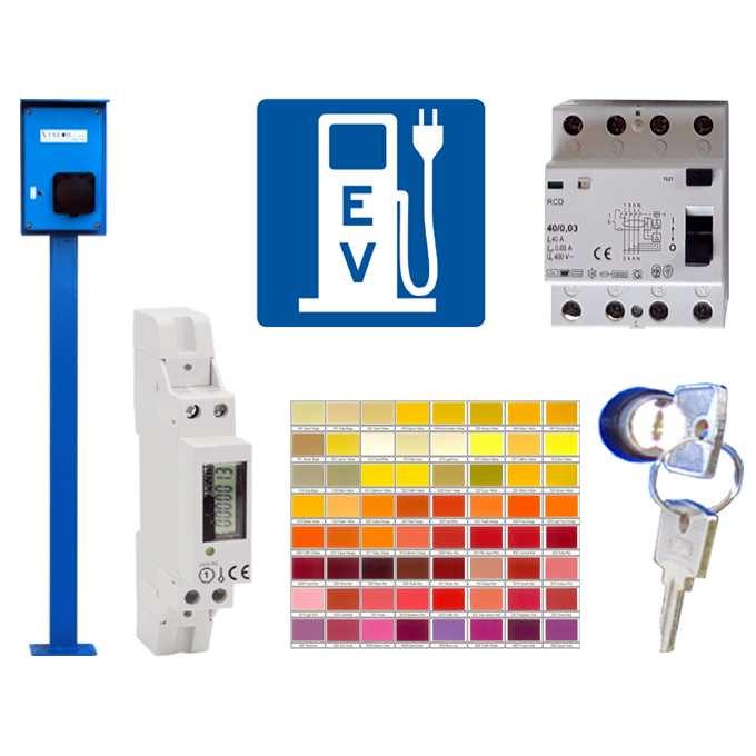 Kiegészítők és tartozékok ViatorPower elektromos autó töltőkhöz