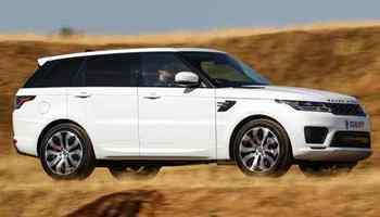 töltő Range Rover Sport