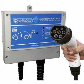 elektromos autó töltő type2